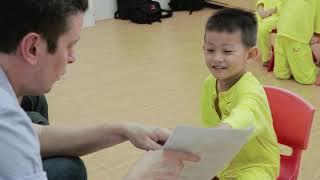 CMN Education - Monthly English test at a kindergarten