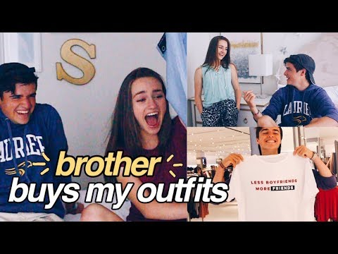 Brother Buys My Outfits! // Shopping Challenge 2017