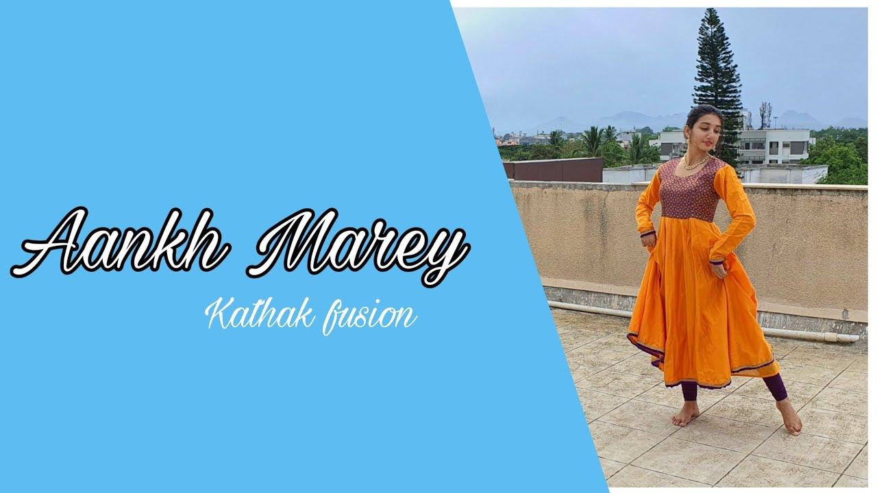 Aankh Marey - SIMMBA | Dance cover | Kathak fusion| Priti Puri