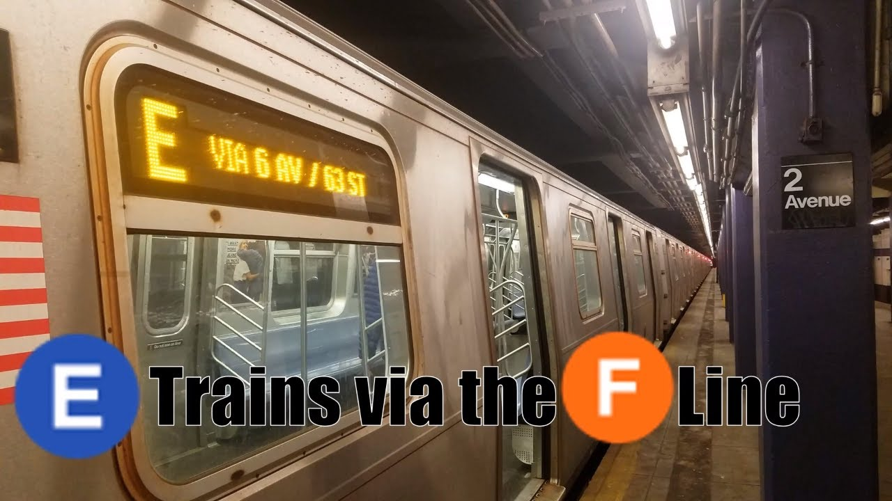Mta New York City Subway E Trains