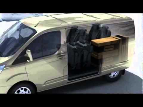 ford tourneo custom camper youtube. Black Bedroom Furniture Sets. Home Design Ideas
