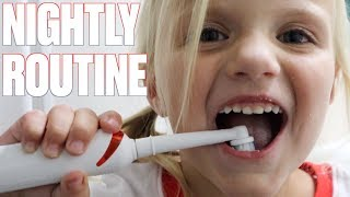 NIGHT TIME BRUSH YOUR TEETH ROUTINE WITH 11 CAVITIES   SCHOOL MORNING & NIGHT TEETH BRUSHING ROUTINE