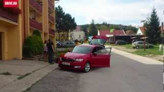 2012 Skoda Rapid — За кадром