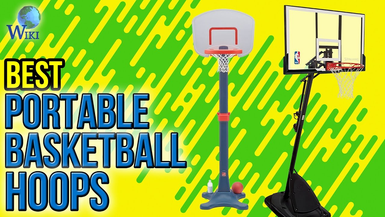 8 best portable basketball hoops 2017 youtube
