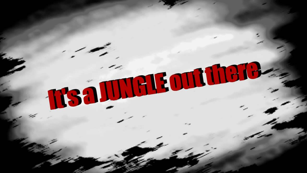 Image result for it's a jungle out there mr monk