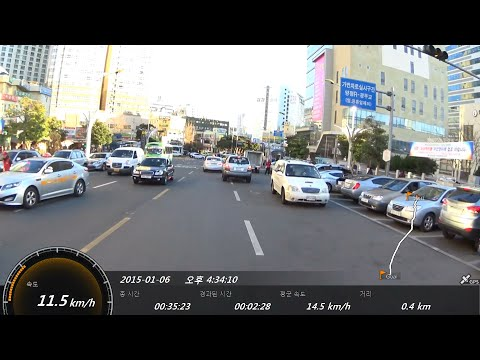 [부산 라이딩 Busan, Korea bike Ride] by SONY AS200V