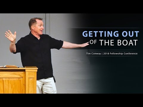Getting Out of the Boat  Tim Conway