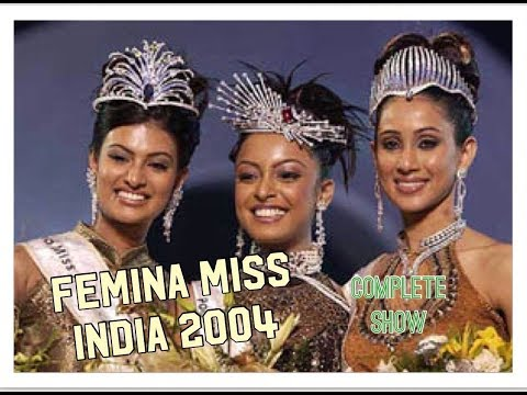 Femina Miss India 2004 - Full Show