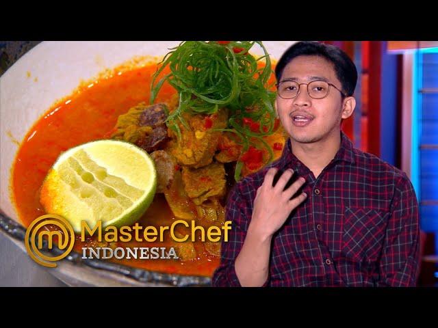 MASTERCHEF INDONESIA - Dibiling Asin, Faiz Beri Alasannya | TOP 5