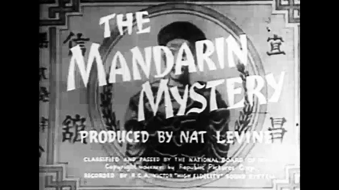 Ellery Queen Crime Mystery Movie - The Mandarin Mystery (1936)