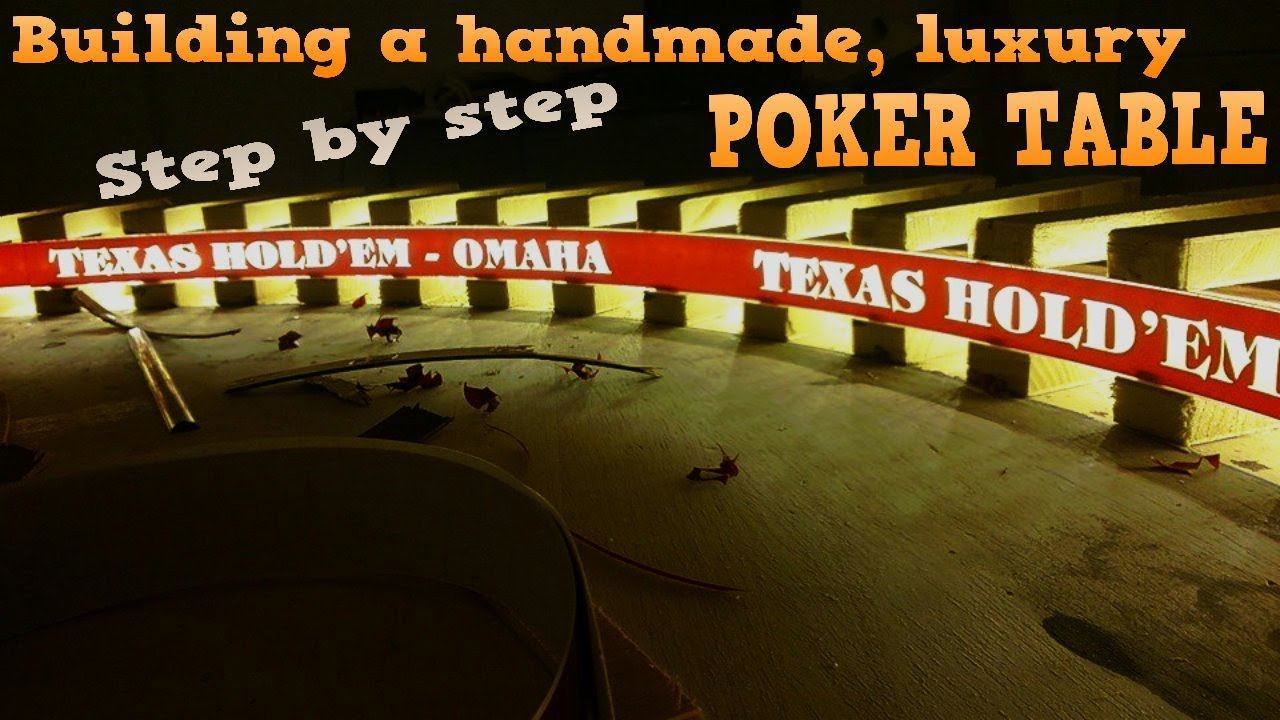 How To Build A Poker Table With Lights Homemade Diy Youtube
