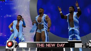 WWE 2K16: The New Day Entrance! (WrestleMania 31 Arena)
