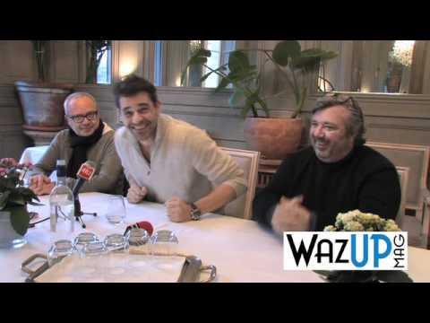 Interview de Thierry Neuvic, Olivier Baroux et Louis Becker - WAZUP MAG