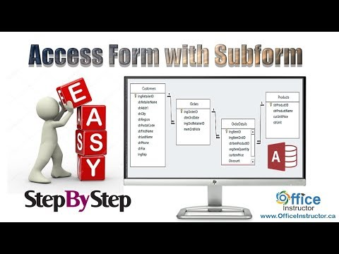 Access Form With a Subform and Calculated Fields