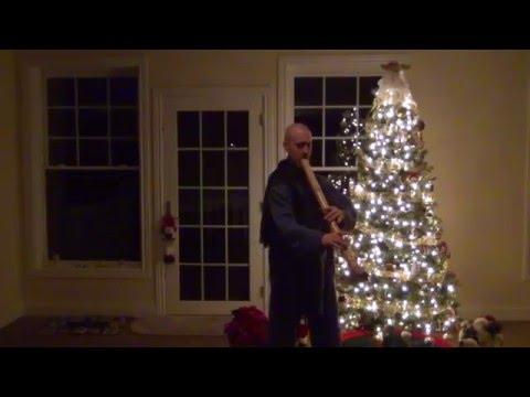 The 12 Days of Christmas on Taimu bass Zen Shakuhachi Flute