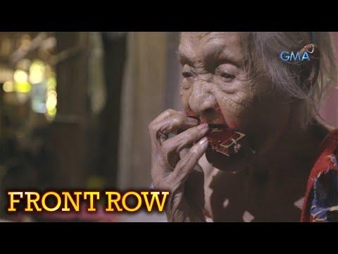 Front Row: Itinuturing na pinakamatandang tao sa Pilipinas, kilalanin