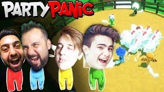 EKİPLE ÇILGIN PARTY YAPIYORUZ! | EKİPLE PARTY PANIC (furkanyamanhd-gereksizoda-ümidi)