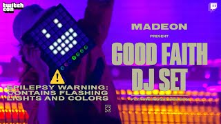 Madeon's Good Faith DJ Set live at TwitchCon Party, Sep 28, 2019