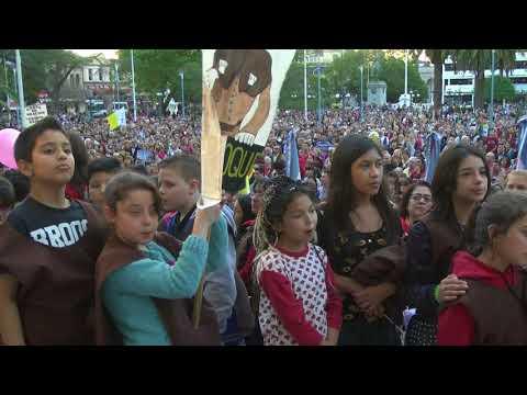 Misa y procesión de la Fiesta Patronal de Paraná 2017