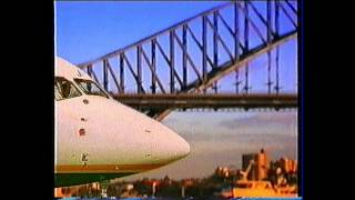 East West Airlines commercial from around 1991