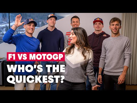Formula 1 Vs MotoGP: The Ultimate Reaction Time Challenge