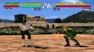 Tekken 2 Jun Kazama Playthrough