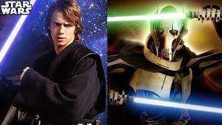 Anakin VS General Grievous Fight Simulator AND MORE - Movie Duels