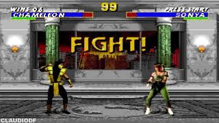 Ultimate Mortal Kombat Trilogy Hack CHAMELEON SEGA GENESIS