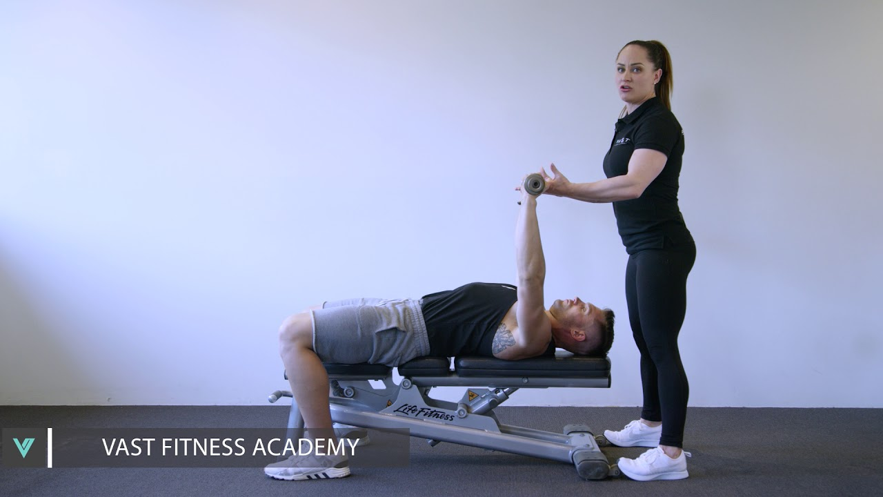 Spotting Technique For The Bench Press. Vast Fitness Academy