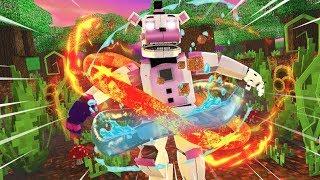 Funtime Freddy Gets Super Powers!- Minecraft FNAF Roleplay