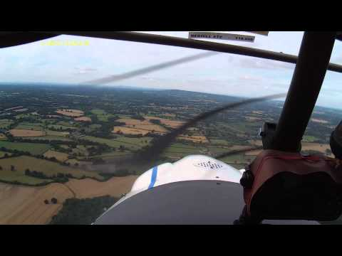 Flying circuits at Redhill Aerodrome 01/08/15 (Pt 1)