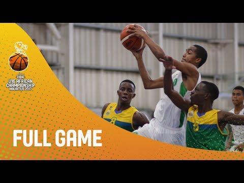 Madagascar v Rwanda - Full Game - FIBA U16 African Championship 2017