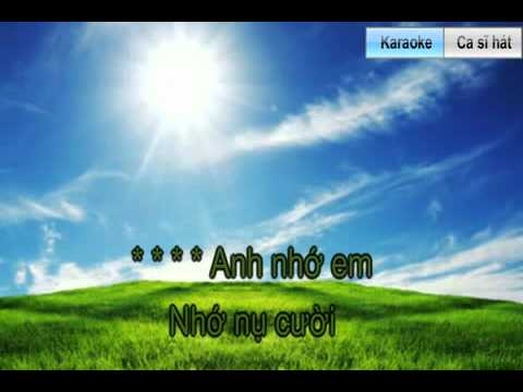 Karaoke. Khong gi co the thay the em.mp4