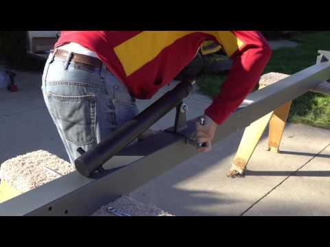 Goaliath Basketball Hoop Install - Part 2 - The Hoop