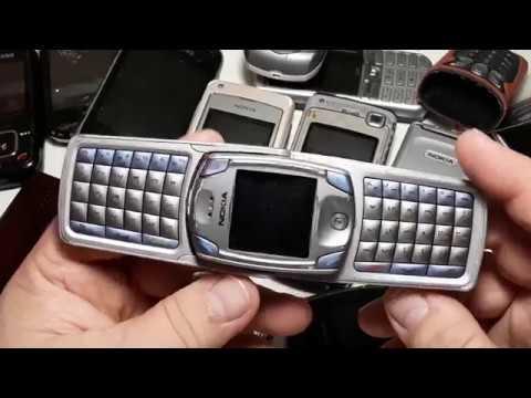 Крутая посылка из Германии c кучей ретро телефонов Nokia 6820a, Nokia 6681,  2660, 5140, 6101, 2720