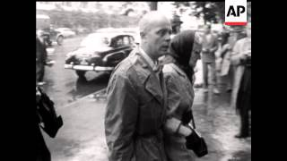 Francis Gary Powers U-2 Spy Plane Trial - 1960