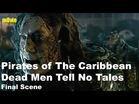 Pirates Of Caribbean Dead Man Tell No Tales - Ending Scene