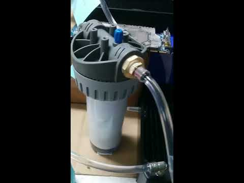 How to clean a water cooling loop (radiators, waterblocks...) with a 5 micron filter