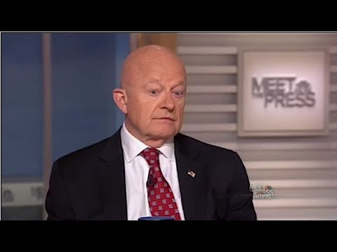 GAME OVER! JAMES CLAPPER FLIPPED WHAT HE JUST TOLD TRUMP IS THE SMOKING GUN!