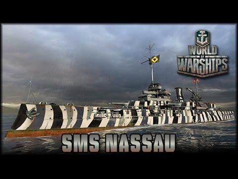 World of Warships - SMS Nassau [ deutsch | Gameplay ]