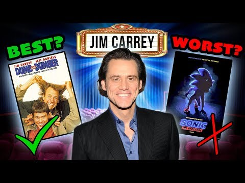 Jim Carrey Best & Worst Movies Dumb and Dumber Sonic Liar Liar