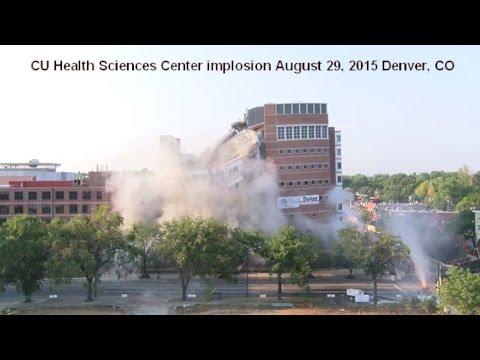 University Of Colorado Health Sciences Center >> Building Implosion Cu Health Sciences Center