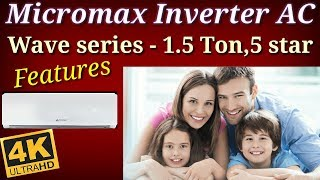 micromax inverter ac FEATURES