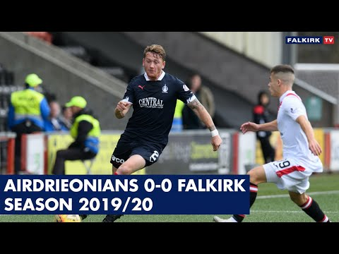 Airdrieonians 0-0 Falkirk | Highlights