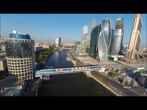 "Business Center ""Moscow-City"" from the Air"