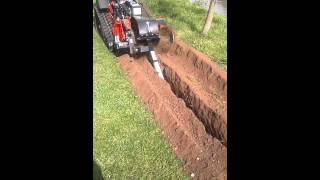 Barreto Hydraulic Tracked Trencher available for hire from Plantool hirecentres