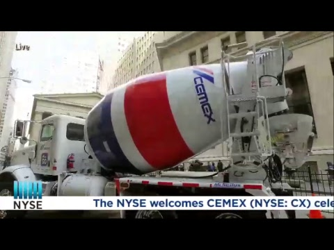Today CEMEX rings the NYSE Closing Bell