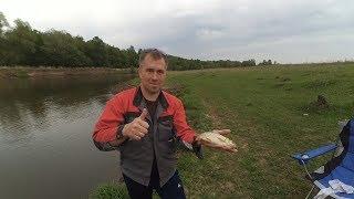 Вечерняя рыбалка. Река Зай
