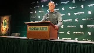 Michigan State coach Mark Dantonio done with past, looking forward to Northwestern
