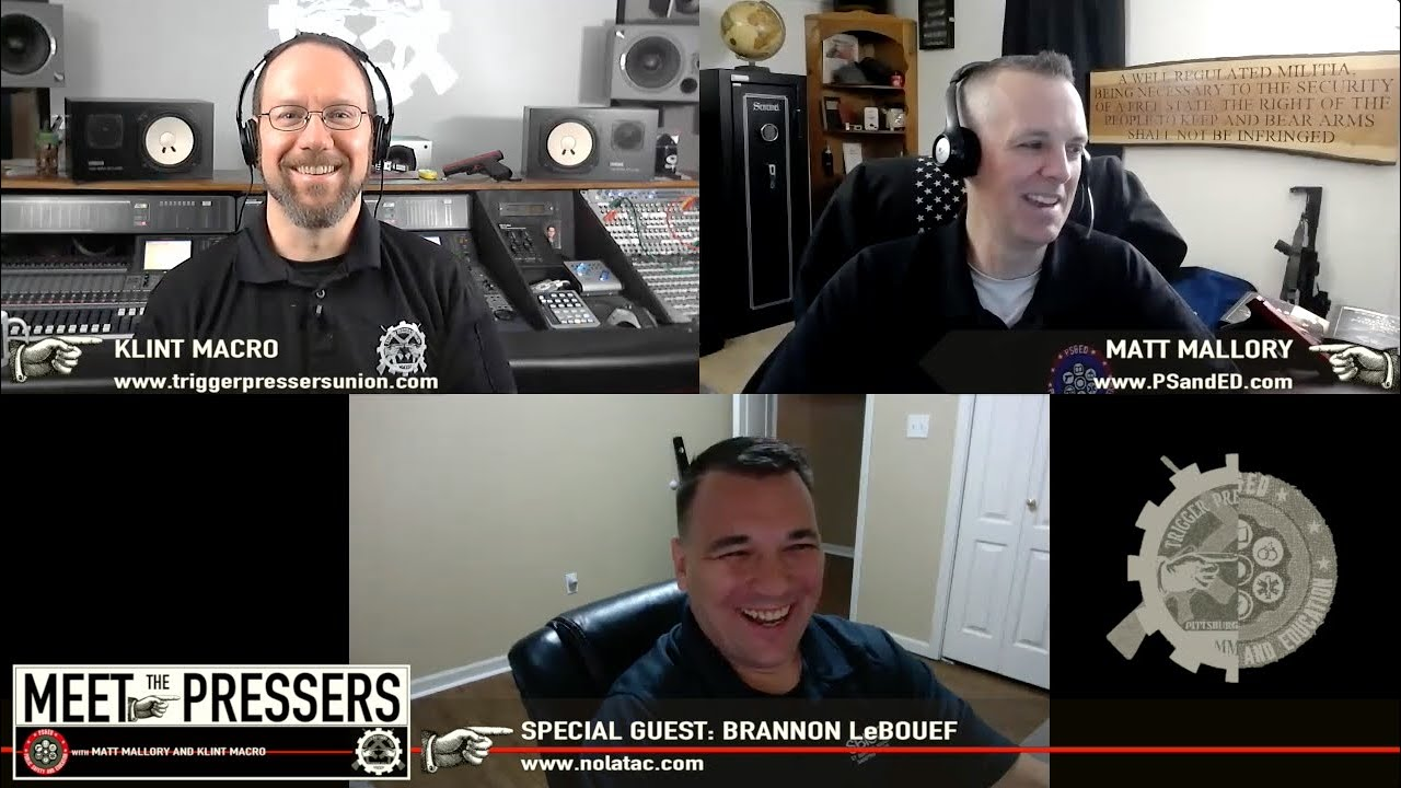Brannon LeBeouf from NOLATAC - Season II, Episode XVII
